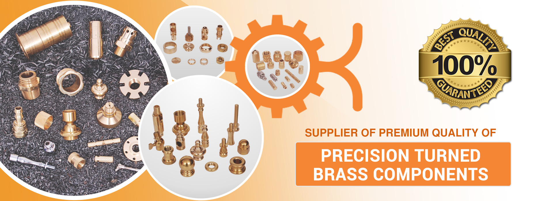 Precision Turned Brass Components Manufacturer